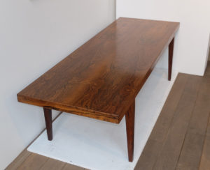 Table Basse En Palissandre Scandinave 1960 Severin Hansen