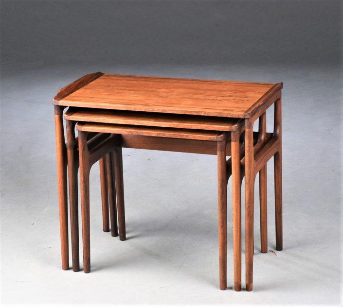 Table Gigogne Palissandre 1960, Danemark, Erling Torvits