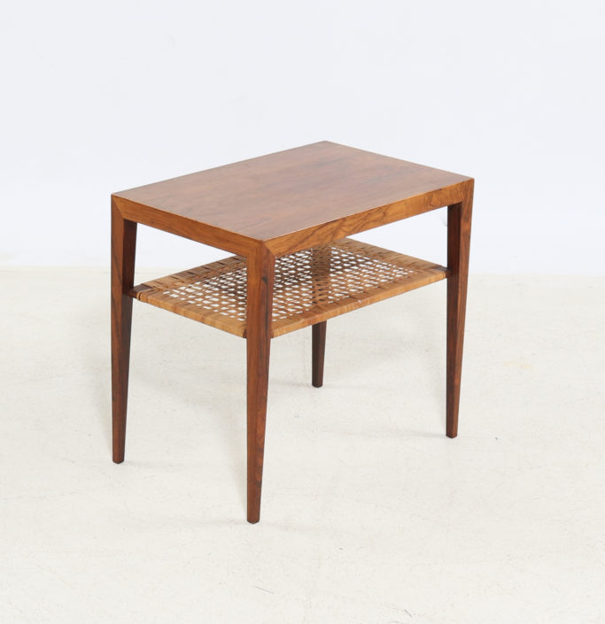 Table d'Appoint Severin Hansen En Palissandre 1960, Scandinave