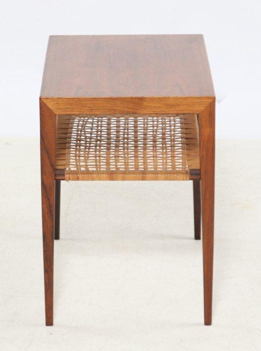 Table d'Appoint Severin Hansen En Palissandre 1960, Scandinave