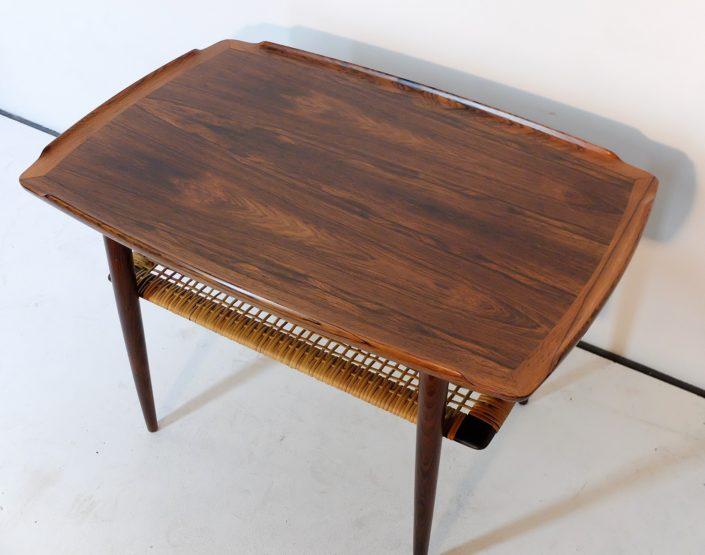 Table d'Appoint Scandinave En Palissandre, Poul Jensen 1960