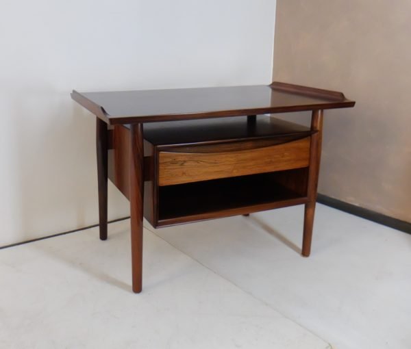 Table d'Appoint Scandinave En Palissandre, Arne Vodder 1960