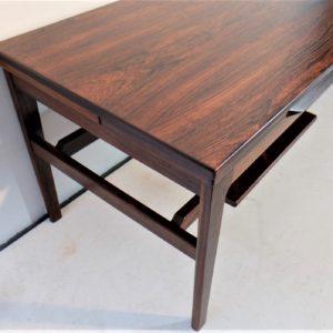 Table basse scandinave en palissandre, époque 1960